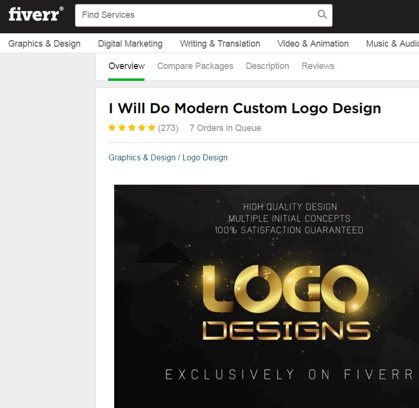 logo design fiverr