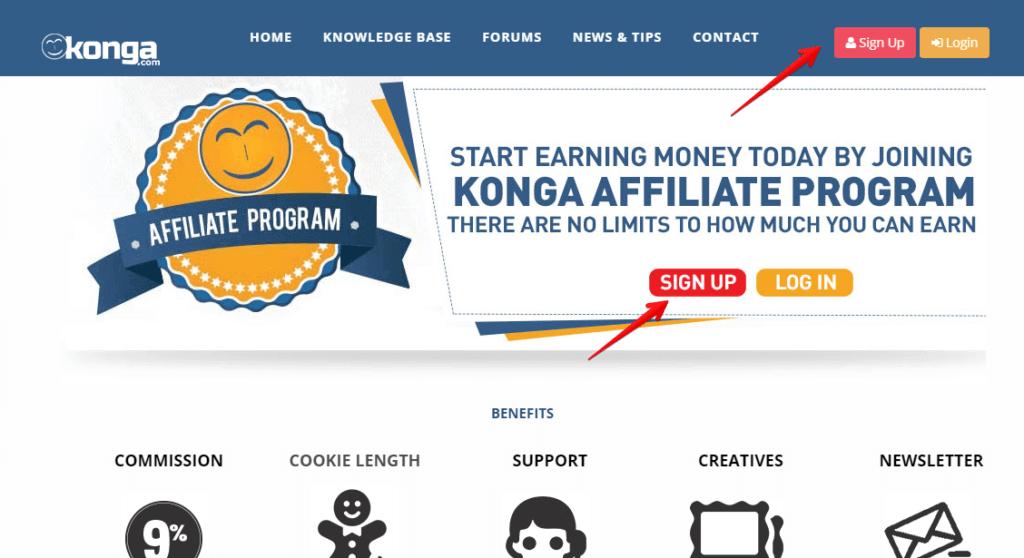 Make N10,000+ with the Konga Affiliate Program