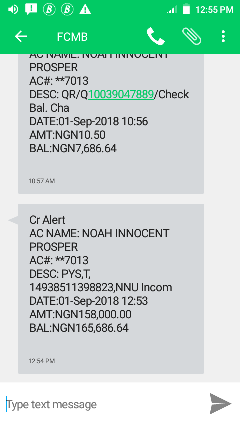 NNu august payment