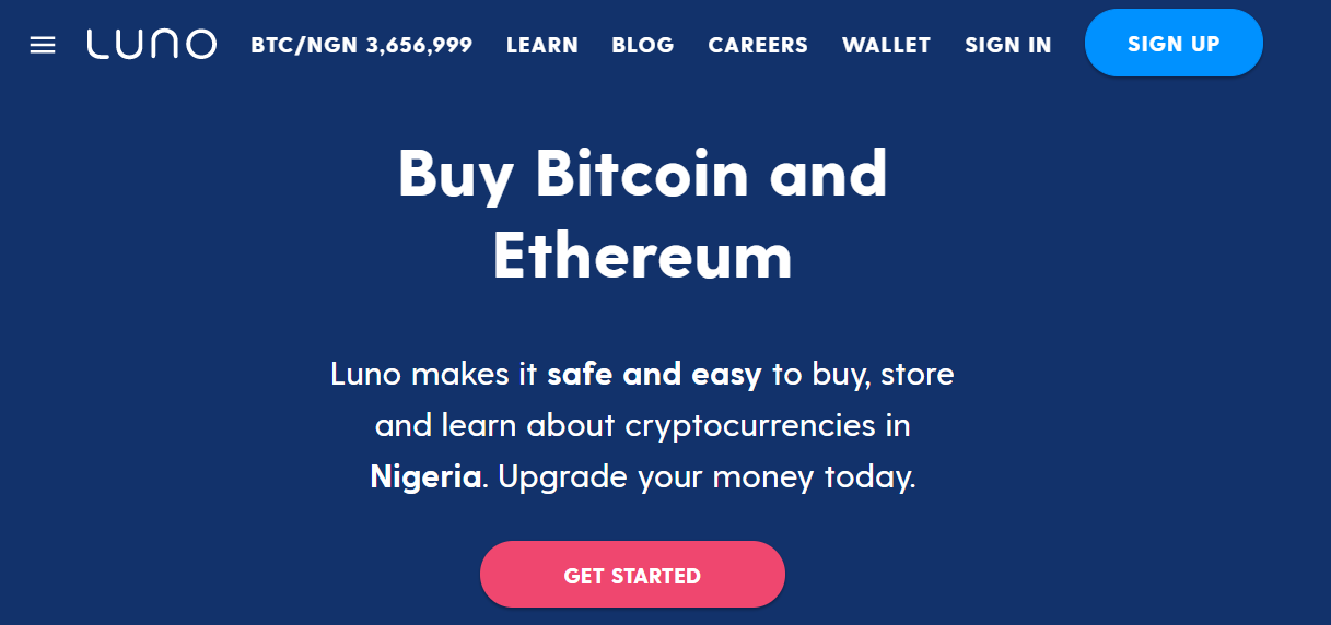 How to buy Bitcoin on Luno in Nigeria